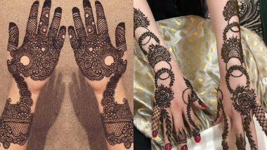 Kajari Teej 2019 Mehndi Designs: कजरी तीज पर महिलाएं लगाती हैं अपने हाथों और पैरों में मेहंदी, इस अवसर पर आप भी ट्राई करें ये लेटेस्ट डिजाइन
