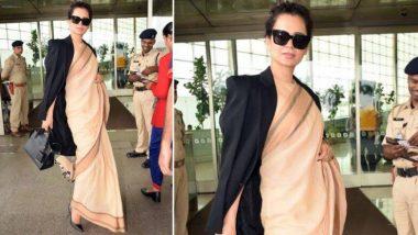 Troll: कंगना रनौत ने पहनी 600  रूपए की साड़ी तो लोगों ने सोशल मीडिया पर उड़ाया मजाक