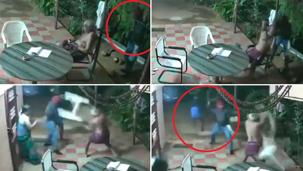 तमिलनाडु: घर में घुसे हथियारों से लैस चोरों का बुजुर्ग दंपत्ति ने किया डटकर सामना, लुटेरों को ऐसे सिखाया सबक, देखें वीडियो