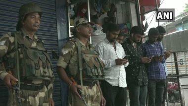 जम्मू-कश्मीर: जम्मू, सांबा, कठुआ, उधमपुर और रियासी में फिर से बंद की गई मोबाइल इंटरनेट सेवाएं