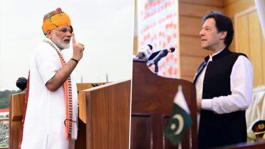 पीएम मोदी ने किया विकास पर फोकस, तो इमरान खान की कश्मीर पर अटकी रही सुई; जानें कितना अलग था स्वत्रंत्रता दिवस का भाषण