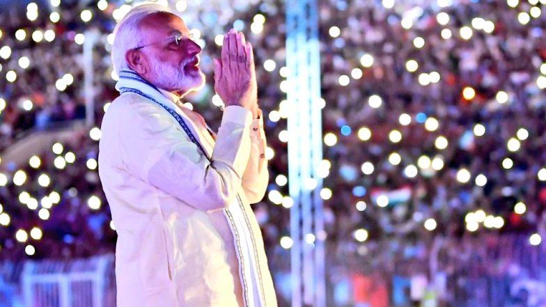 Happy Birthday PM Modi: प्रधानमंत्री मोदी को 69वें जन्मदिन पर वाराणसी के व्यापारी ने दिया खास गिफ्ट, बजरंग बली को चढ़ाया सवा किलो का सोने का मुकुट