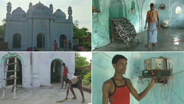 बिहार: दीवार पेंट करने से लेकर अज़ान बजाने तक इस गांव के हिंदू करते हैं मस्जिद की देखरेख