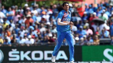 Ind vs WI 1st T20I 2019: अपने डेब्यू मुकाबले में नवदीप सैनी ने हासिल किया 'मैन ऑफ द मैच' अवार्ड
