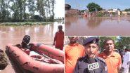 पंजाब-हरियाणा में बाढ़, भारतीय वायु सेना ने 9 लोगों को बचाया