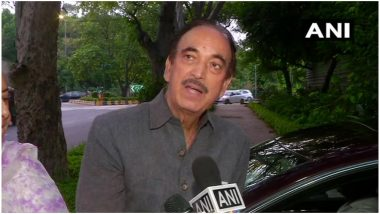 कांग्रेस नेता गुलाम नबी आजाद ने कहा- भारत सरकार कोई भी ऐसा फैसला न ले जो जम्मू कश्मीर में गहरे संकट का कारण बने