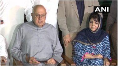जम्मू कश्मीर: सर्वदलीय बैठक के बाद फारूक अब्दुल्ला बोले- विशेष दर्जे को खत्म करने की कोशिश का विरोध करेंगी पार्टियां
