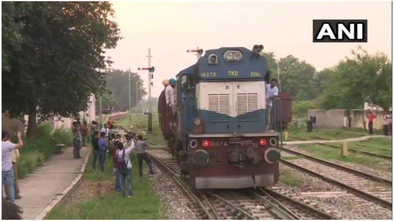पाकिस्तान के 'इनकार' के बाद समझौता एक्सप्रेस भारतीय इंजन के साथ लौटी अटारी बॉर्डर
