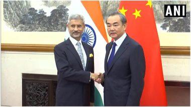 भारत-पाकिस्तान तनाव के बीच विदेश मंत्री एस जयशंकर ने चीन के शीर्ष नेतृत्व से की मुलाकात