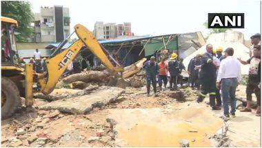 अहमदाबाद में पानी के टैंक के ढह जाने से 3 लोगों की मौत