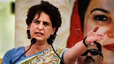 उन्नाव रेप को लेकर प्रियंका गांधी का बड़ा हमला, पीड़िता की मौत के लिए यूपी सरकार को ठहराया जिम्मेदार