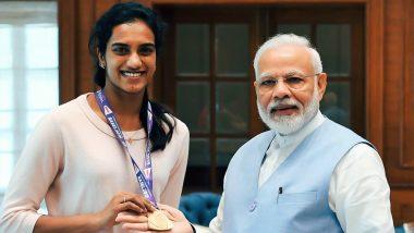 वर्ल्ड चैम्पियन पीवी सिंधु से पीएम मोदी ने की मुलाकात, गोल्डन गर्ल को बताया भारत का गौरव