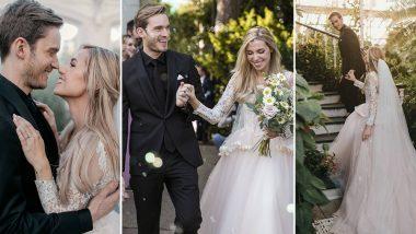 PewDiePie Married! टी-सीरीज को टक्कर देने वाले यूट्यूब स्टारPewDiePie ने की शादी, देखें Weddingphotos