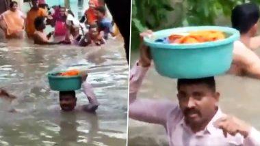 वडोदरा: 45 दिन की मासूम के लिए पुलिसवाला बना कलयुग का 'वासुदेव', टब में रखकर यूं बचाई जान- देखें Video