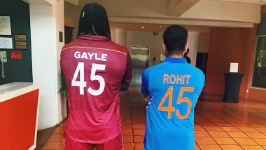 रोहित शर्मा ने क्रिस गेल के साथ इंस्टाग्राम पर शेयर की तस्वीर, जानें क्या छुपा है राज