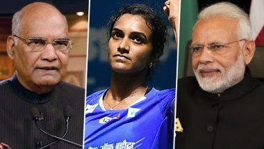 पीवी सिंधु बनीं बैडमिंटन वर्ल्ड चैम्पियनशिप जीतने वाली पहली भारतीय महिला खिलाड़ी, राष्ट्रपति कोविंद और पीएम मोदी समेत इन लोगों ने दी बधाई
