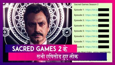 Sacred Games 2 के मेकर्स को लगा झटका, पायरेसी वेबसाईट Tamilrockers पर लीक हुए एपिसोड