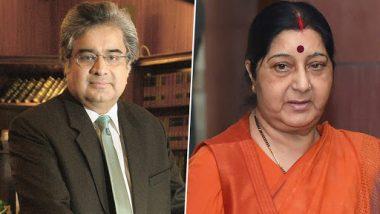 अलविदा सुषमा स्वराज: निधन से 1 घंटे पहले पूर्व विदेश मंत्री ने की थी हरीश साल्वे से बात, कहा था- कल आकर अपनी फीस ले जाइए