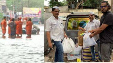महाराष्ट्र में बाढ़ का कहर, मदद के लिए मुंबई के डब्बावाले और रोटी बैंक आया आगे, भेजेंगे राहत सामग्री