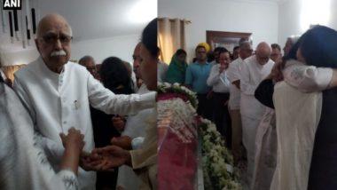 बीजेपी दिग्गज नेता लालकृष्ण आडवाणी ने सुषमा स्वराज को किया याद, कहा- उनकी मौजूदगी बहुत याद आएगी