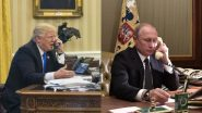 कोविड-19 वैश्विक मुद्दों पर डोनाल्ड ट्रंप और व्लादिमीर पुतिन ने की फोन पर चर्चा