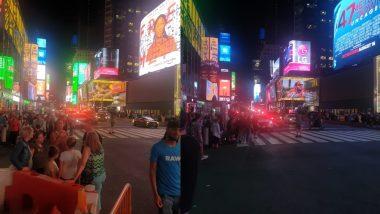 न्यूयॉर्क: टाइम्स स्क्वायर पर तेज आवाज के बाद लोगों के बीच मची अफरातफरी, बच्चे हुए घायल