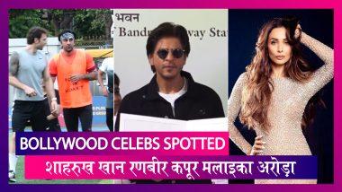 Bollywood Celebs Spotted: शाहरुख खान, रणबीर कपूर, अर्जुन कपूर सहित ये सेलेब्स हुए स्पॉट