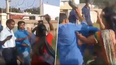कोयम्बटूर: दो शादियां कर चुका था शख्स, तीसरी करने की था फिराक में, पत्नियों और उनके परिवार वालों लोगों ने जमकर पीटा, देखें वायरल वीडियो