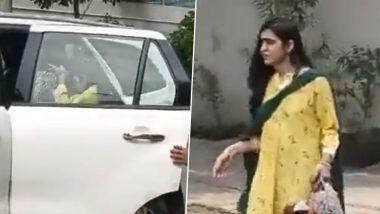 पटना में राबड़ी आवास से रोती हुई निकलीं तेजप्रताप यादव की पत्नी ऐश्वर्या राय, देखें Video
