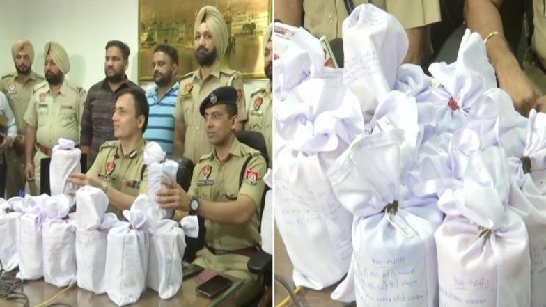 अमृतसर: भारत-पाक सीमा के पास 13.72 किलोग्राम हेरोइन जब्त, ड्रग तस्कर गिरफ्तार