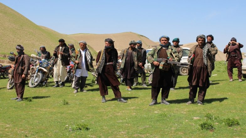 तालिबान के एक प्रतिनिधिमंडल ने अफगान शांति प्रक्रिया पर हालिया प्रगति के संबंध में मास्को में रूसी राजनयिक से की मुलाकात