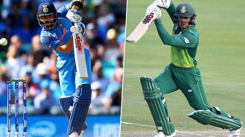 SA 140/1 in 16.5 Overs (Target 134/9)   India vs South Africa 3rd T20I 2019 Live Score Update: तीसरे T20 मुकाबले में अफ्रीकी टीम ने भारत को नौ विकेट से दी करारी शिकस्त, सीरीज 1-1 से हुआ ड्रा