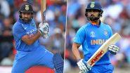 ICC ODI Rankings: आईसीसी वनडे रैंकिंग में विराट कोहली और रोहित शर्मा का बोलबाला, शीर्ष 2 स्थानों पर कायम