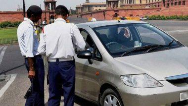नए ट्रैफिक नियम: निजी वाहनों पर जाति, पदों के नाम और स्लोगन के इस्तेमाल पर भरना पड़ सकता है जुर्माना