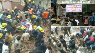 गुजरात के अहमदाबाद में तीन मंजिला इमारत गिरी, कई लोगों के फंसे होने की आशंका, रेस्क्यू ऑपरेशन जारी