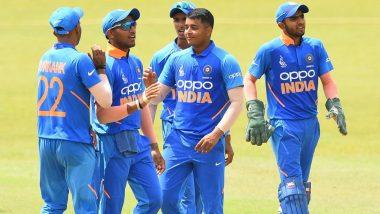 Under-19 Asia Cup 2019: भारत ने अफगानिस्तान को तीन विकेट से दी मात