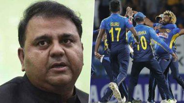 इमरान खान के बड़बोले मंत्री फवाद हुसैन ने कहा 'भारत की धमकी से रद्द हुआ श्रीलंकाई खिलाड़ियों का दौरा'
