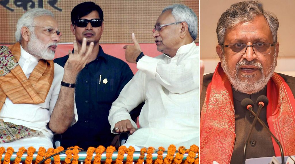 एनडीए में जारी खींचतान के बीच सुशील मोदी ने कहा- देश में नरेंद्र मोदी और बिहार में नीतीश कुमार का विकल्प नहीं