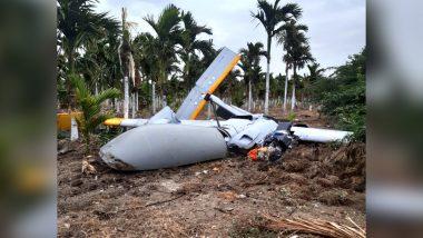 कर्नाटक: चित्रदुर्ग में क्रैश हुआ DRDO का यूएवी रुस्तम-2, ट्रायल के दौरान हुआ हादसे का शिकार