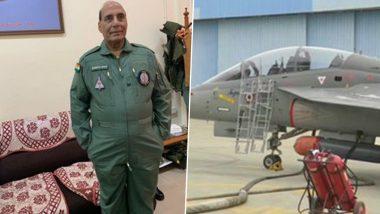 रक्षामंत्री राजनाथ सिंह आज स्वदेशी फाइटर जेट 'तेजस' में भरेंगें उड़ान
