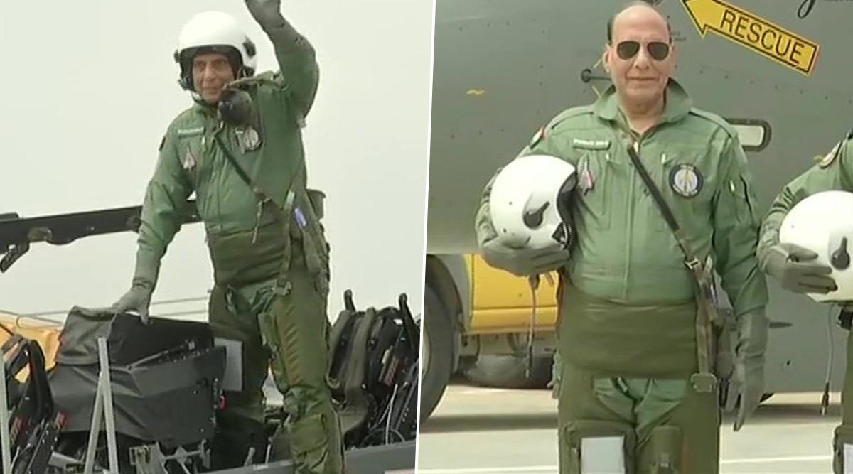 राजनाथ सिंह ने फाइटर जेट 'तेजस' में भरी उड़ान, 30 मिनट तक रहे आसमान में, ऐसा करने वाले पहले रक्षामंत्री- देखें Video