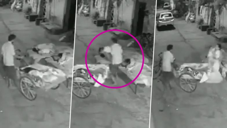 पंजाब के लुधियाना में परिवार के साथ सो रहे बच्चे को चुराने की कोशिश, देखें VIDEO