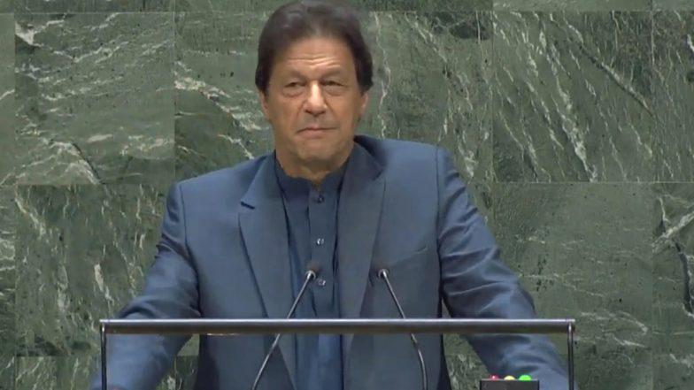 इमरान खान ने संयुक्त राष्ट्र महासभा में भी नहीं छोड़ा पैसे मांगने का मौका, बोले 'अमीर देश मदद करें'