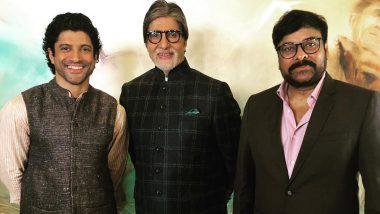 Sye Raa Narasimha Reddy: फरहान अख्तर ने अमिताभ बच्चन और चिरंजीवी के साथ होस्ट की ये खास बैठक