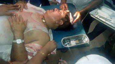 पश्चिम बंगाल में  BJP सांसद के कार पर हुआ हमला, पुलिस की लाठी से लहूलुहान हुए सांसद अर्जुन सिंह