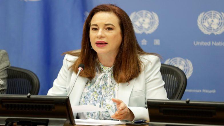 यूएनजीए की अध्यक्ष मारिया फर्नांडा एस्पिनोसा गार्सेस ने शांति को बढ़ावा देने का किया आह्वान