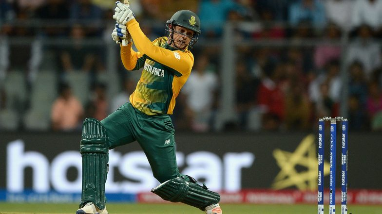 IND vs SA 2nd T20I 2019: क्विंटन डी कॉक का अर्द्धशतक, टीम इंडिया को जीत के लिए मिला 150 रन का लक्ष्य
