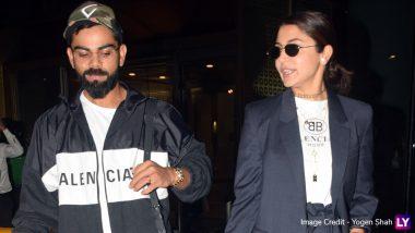 मुंबई एयरपोर्ट पर एक साथ नजर आए कप्तान विराट कोहली और अनुष्का शर्मा, देखें तस्वीरें
