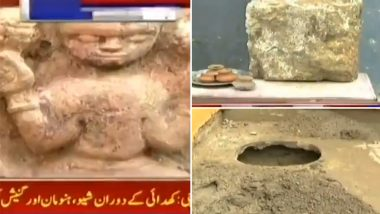 गणेश चतुर्थी के दिन पाकिस्तान में मिली 1500 साल पुरानी भगवान गणेश की मूर्ति, देखें वीडियो