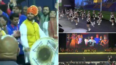Howdy Modi: ह्यूस्टन के एनआरजी स्टेडियम में 'हाउडी मोदी' कार्यक्रम को लेकर जश्न का माहौल